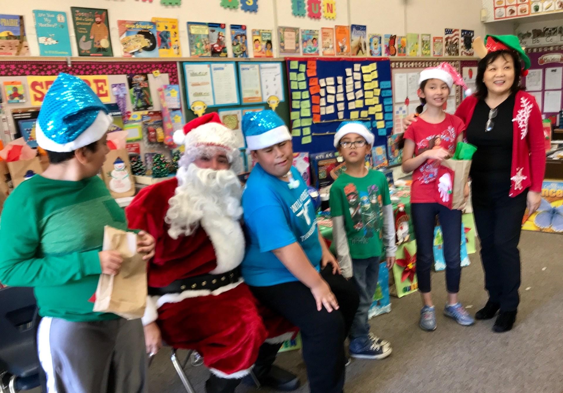 Santa Visits B4