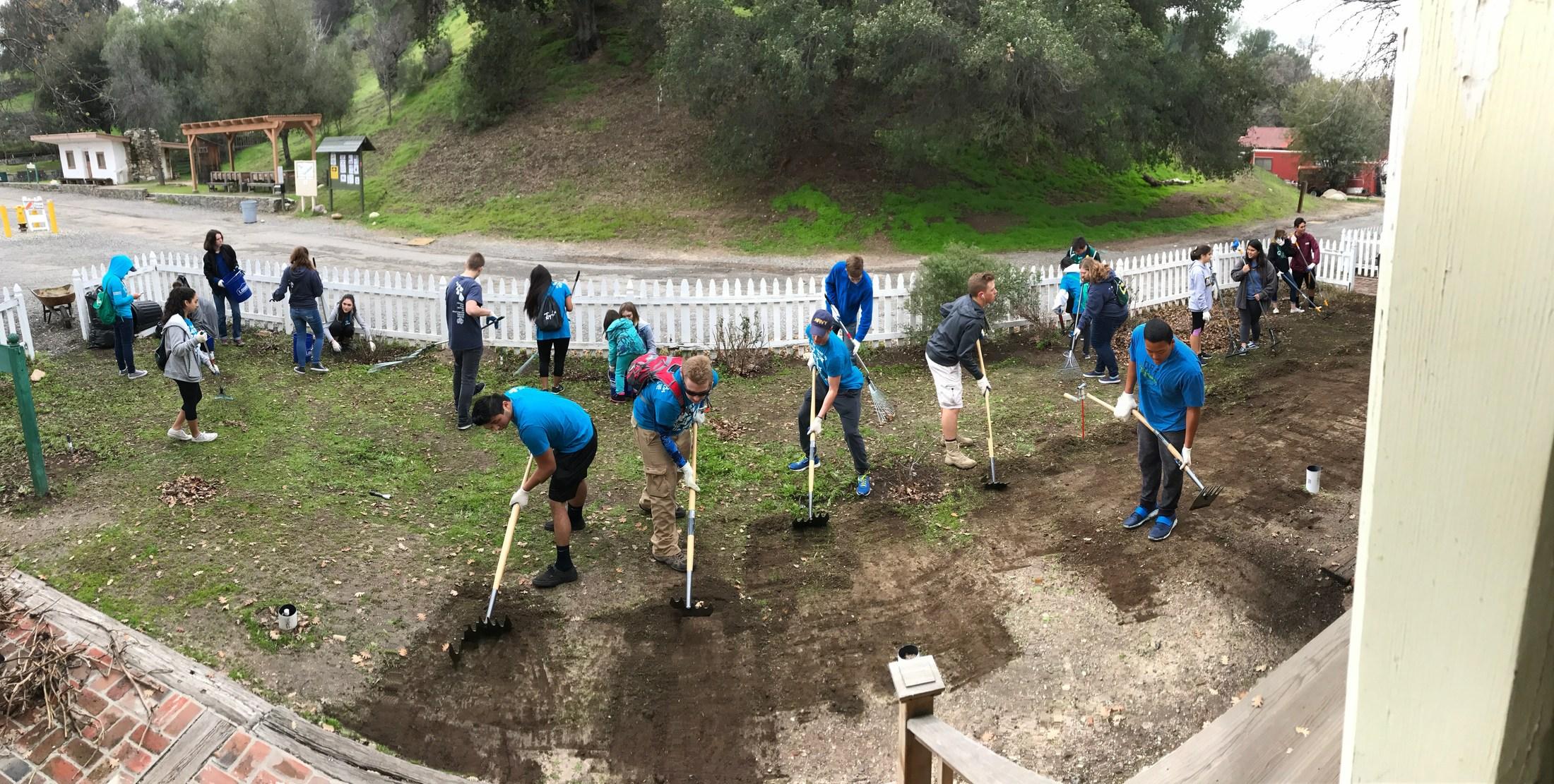 Hart Park clean up