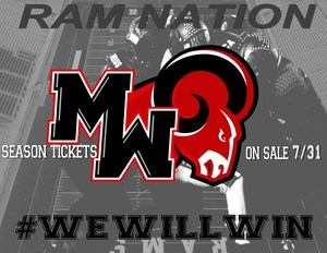 Ram Football Season Ticket Sales begin July 31st