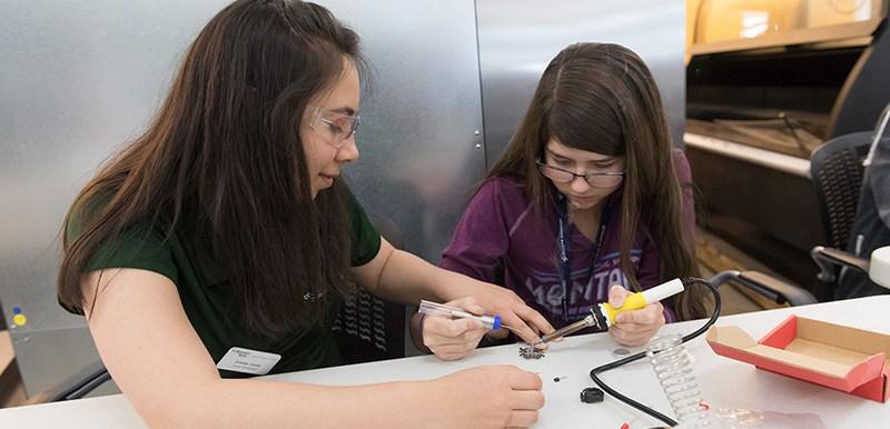 csu introduce a girl to engineering
