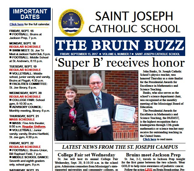 The Bruin Buzz, Friday, Sept. 15 Thumbnail Image