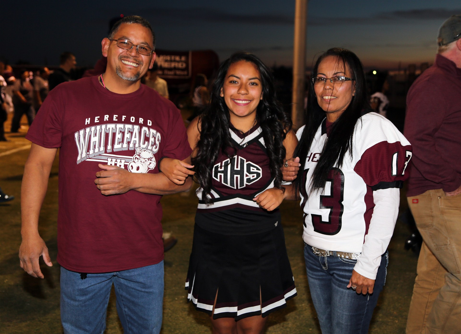 Parents Night Dumas Football Game
