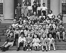 ThrowbackThursday image: Lower School children of Van Cleve