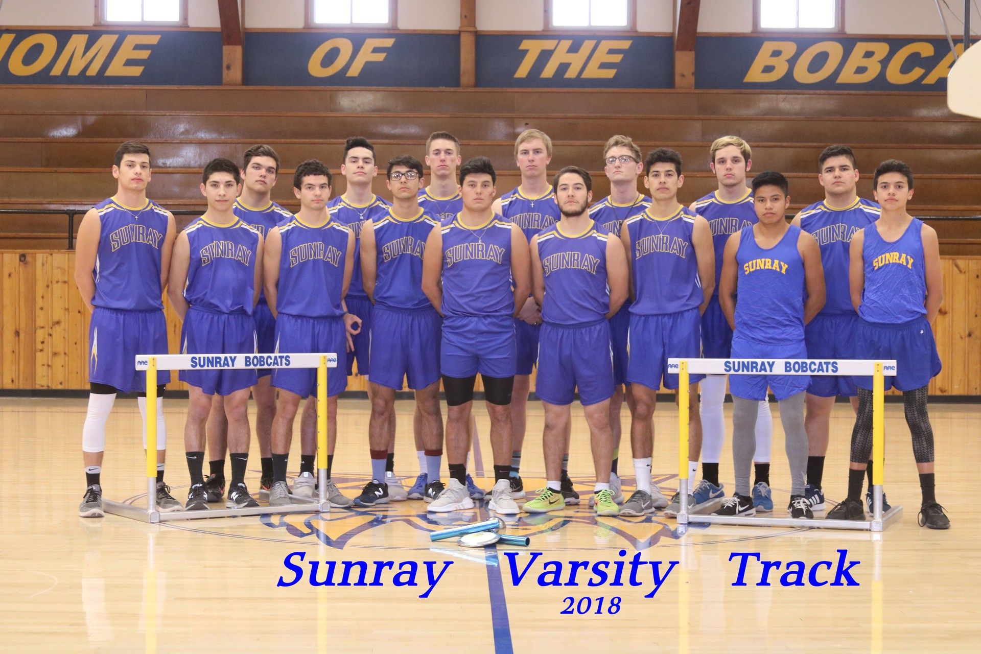 Varsity Boys Track Team