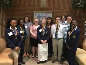 FBLA Region Leadership Conference Winners