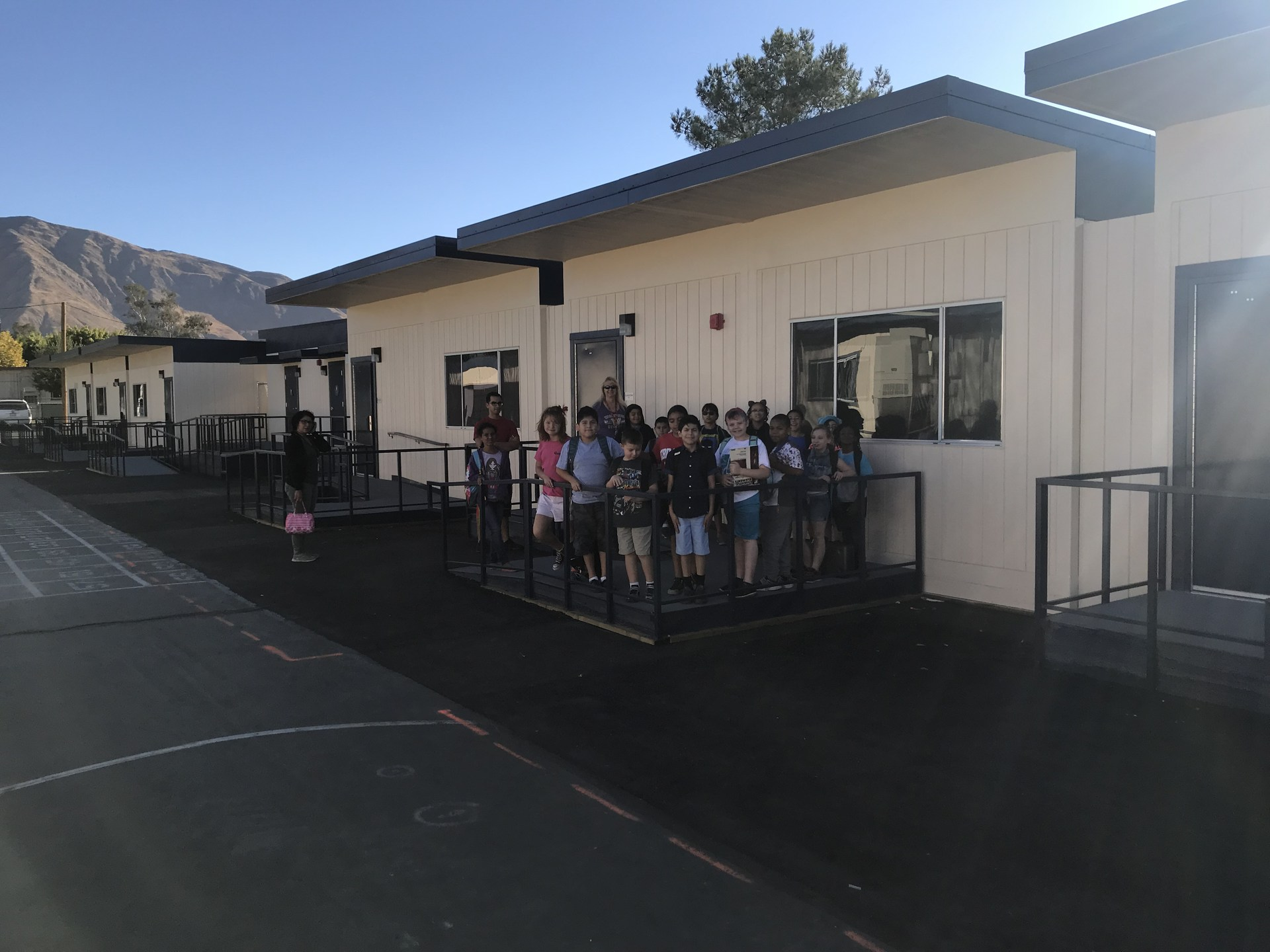 Juan Bautista De Anza Elementary classrooms are ready to occupy!