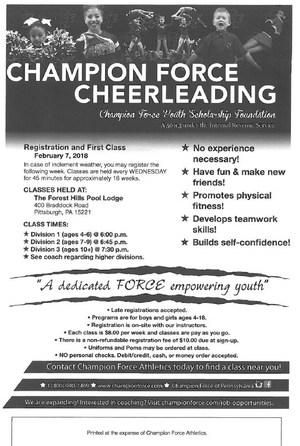 Champion Force Cheerleading