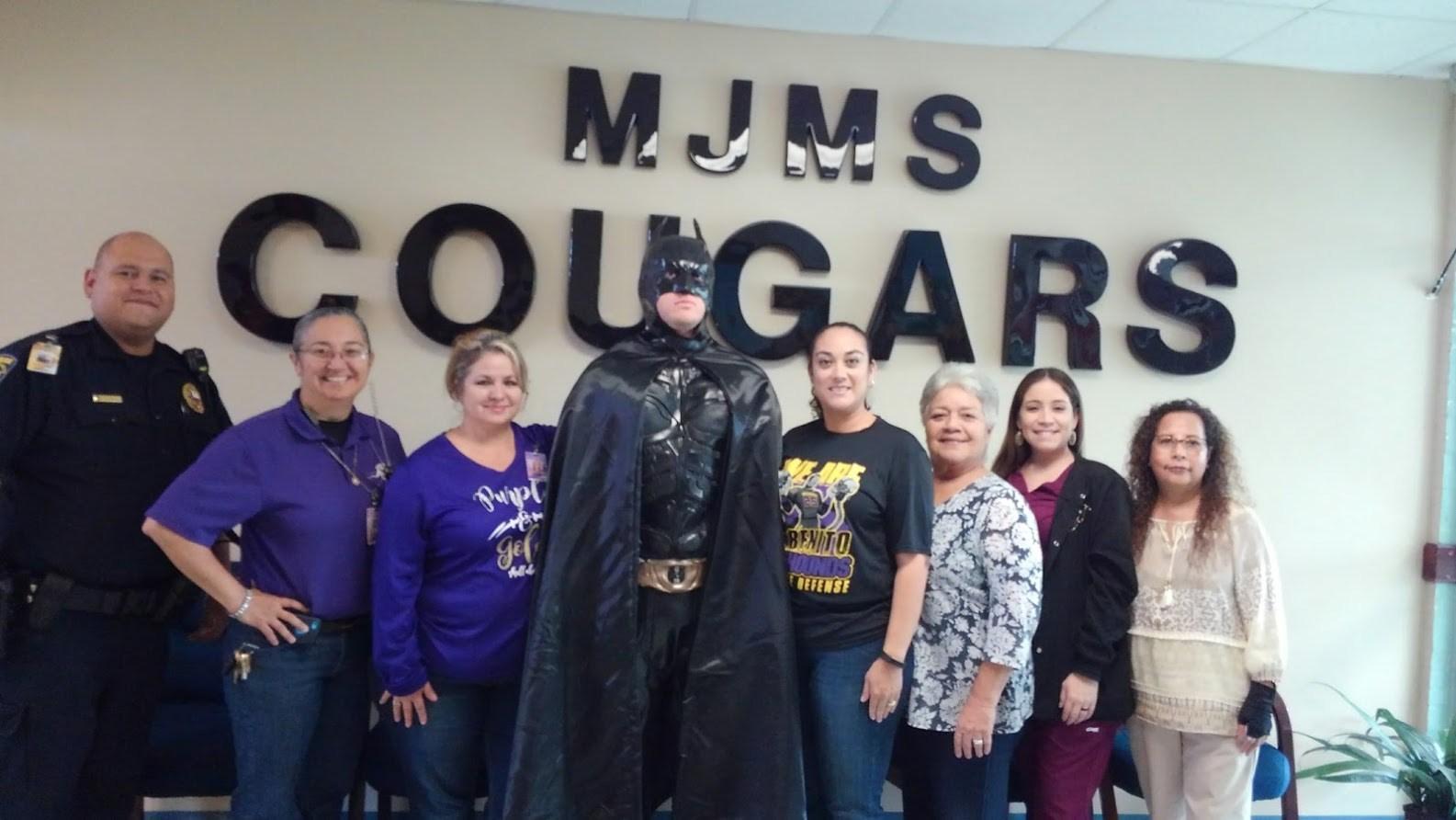 Batman MJ and Staff