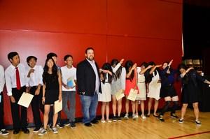 Johnson National Junior Honor Society Students