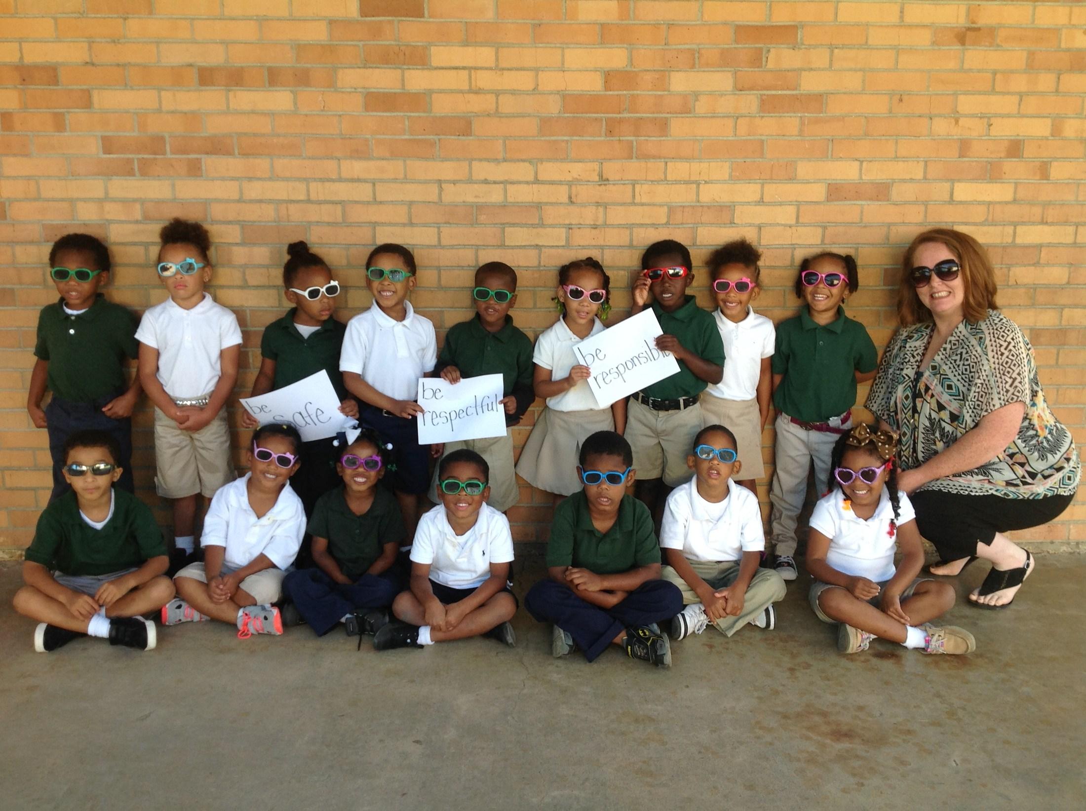 Mrs. Miller's PreK Class Celebrates P.B.I.S.