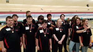 Special Education Bowling Team Photograph