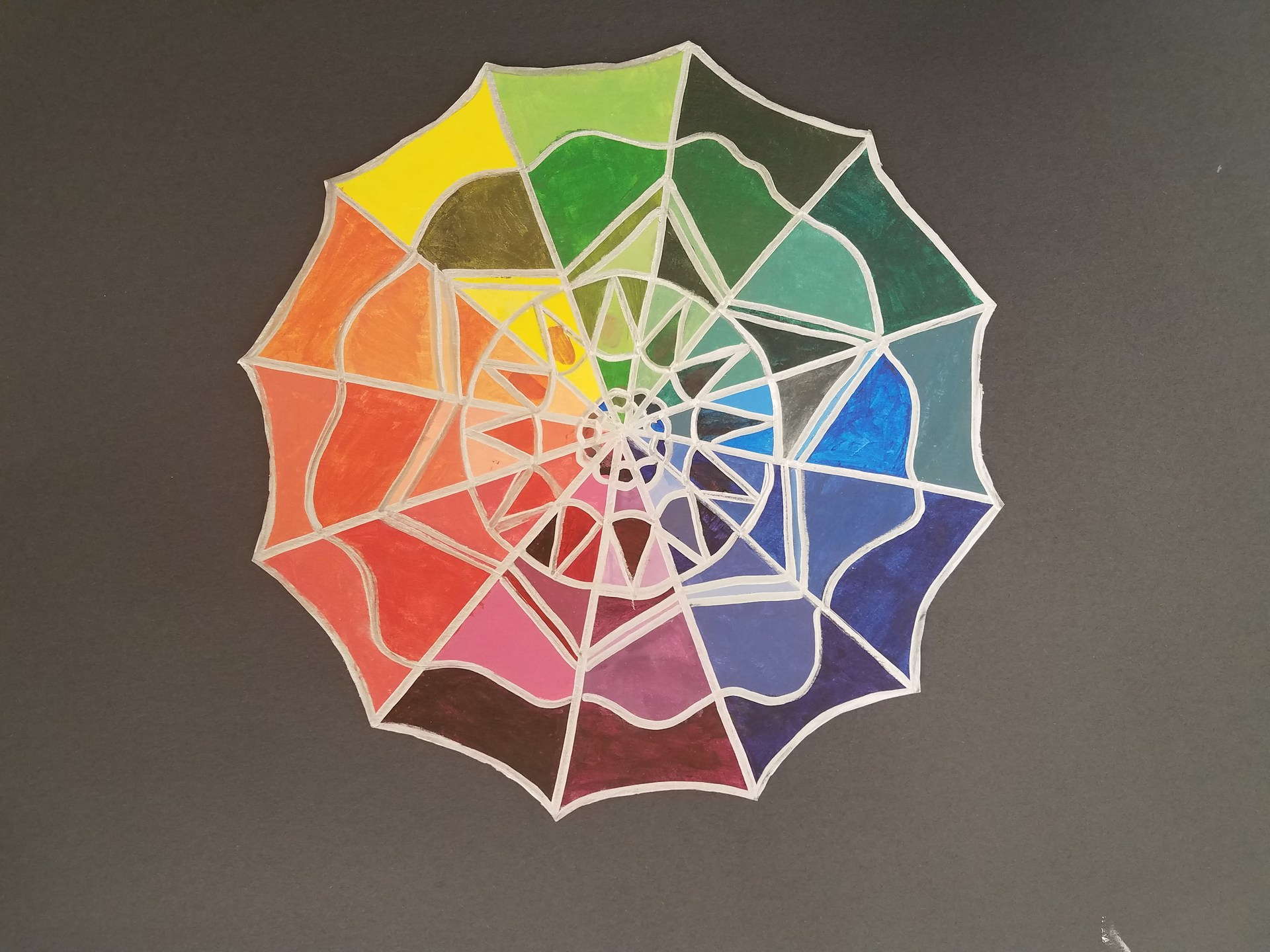 Beginning Art colorwheel
