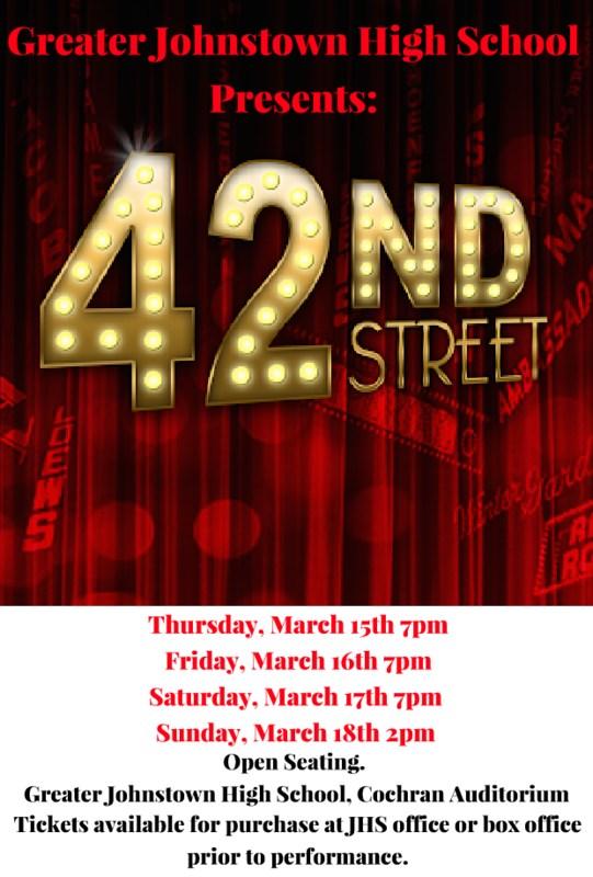 42 Street Playbill
