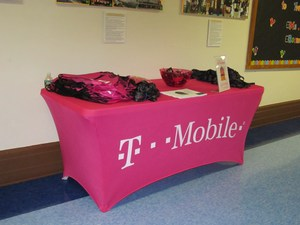 T Mobile Display table
