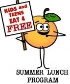 Free Summer Lunch Program Thumbnail Image