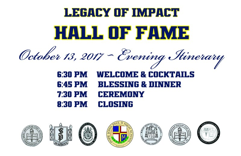 Legacy of Impact Hall of Fame Awards - October 13 - Itinerary Thumbnail Image