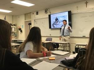 Chris Hoffman history class