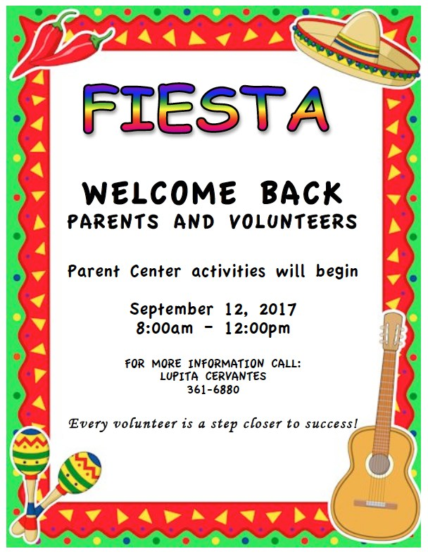 parental involvement welcome