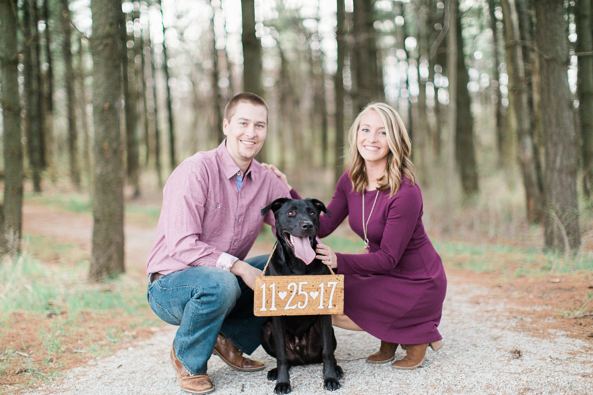 My fiance, Tyler Craig, and our beloved pup Teddy!