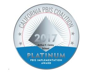 PBIS Platinum Badge