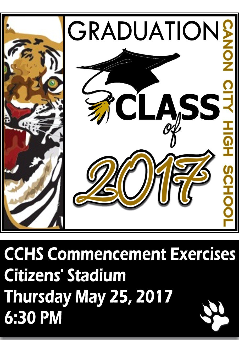CCHS Graduation May 26th, 2017 6:30 PM