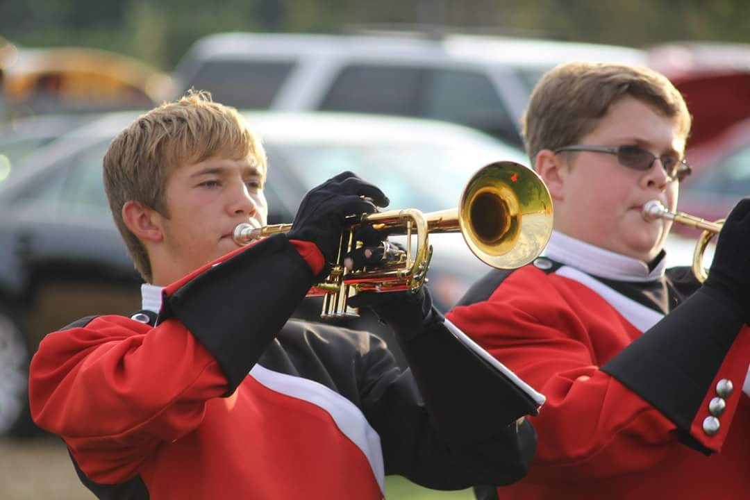 Freshman School Band student
