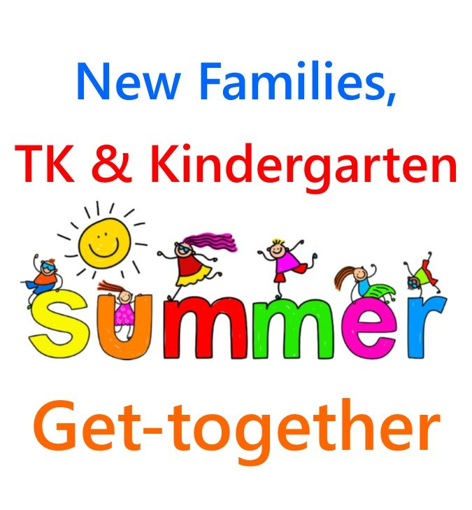 New Family, TK and Kindergarten Summer Get Together Thumbnail Image