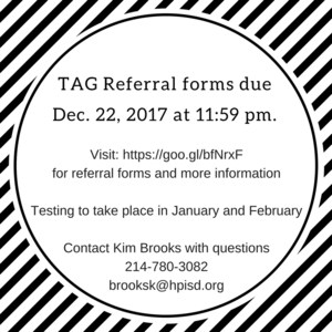 TAG Referral forms due Dec. 22, 2017 at 11-59 pm..png