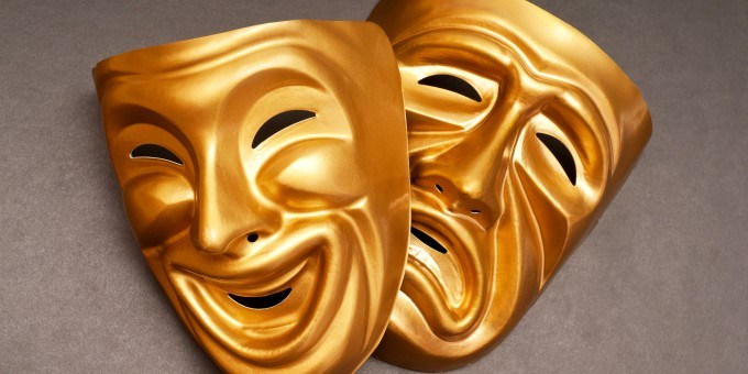 Theater Masks Comedy and Tragedy