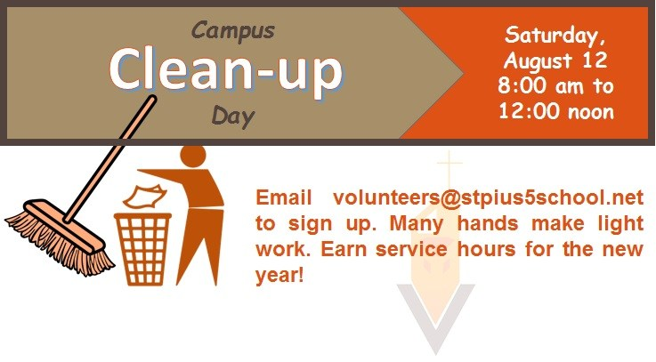 CAMPUS CLEAN-UP DAY! Thumbnail Image