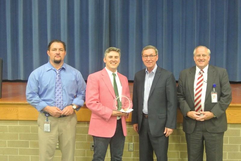 Mr. Smallridge receiving the Arch Coal Achievement Award.  Congratulations!!