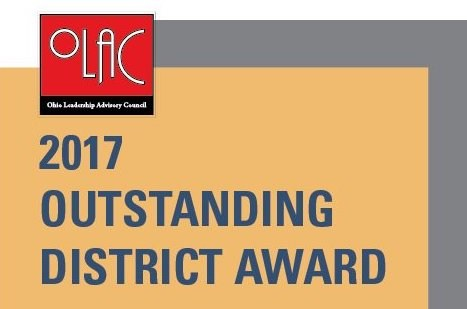 PCLS Earns Outstanding District Award From OLAC Thumbnail Image
