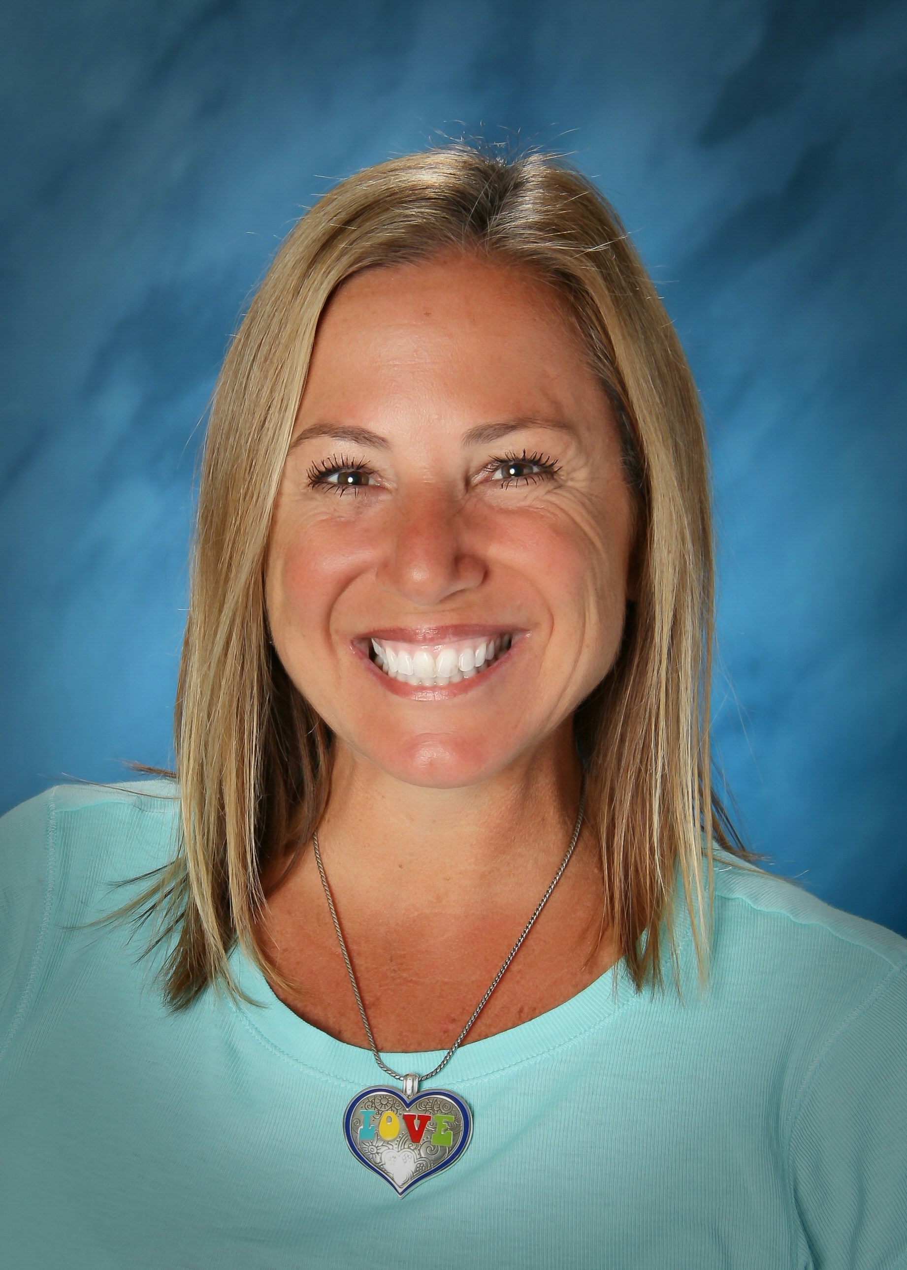 Mrs. Ingrassia on picture day, October 2017