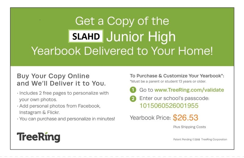 Order Your Junior High Yearbook! Thumbnail Image