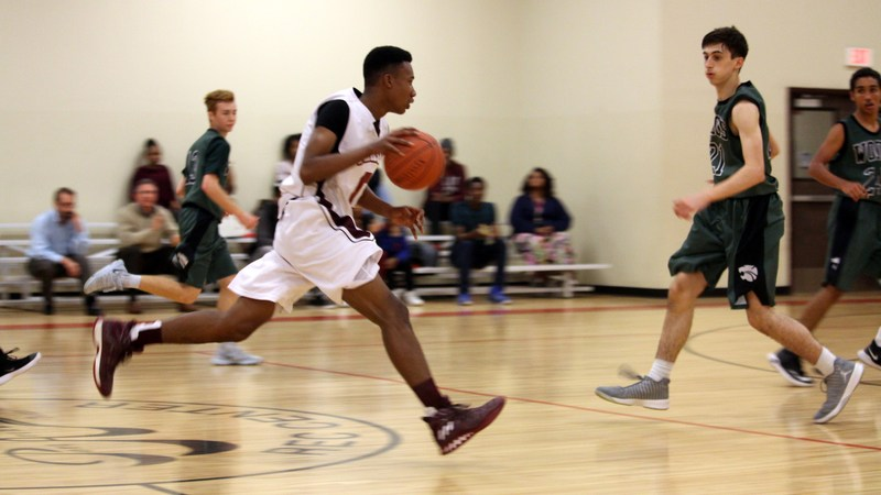 BOYS BASKETBALL: Tekoa Academy (6-1) came up short against School of the Woods, 58-63. (Feb. 9) Featured Photo