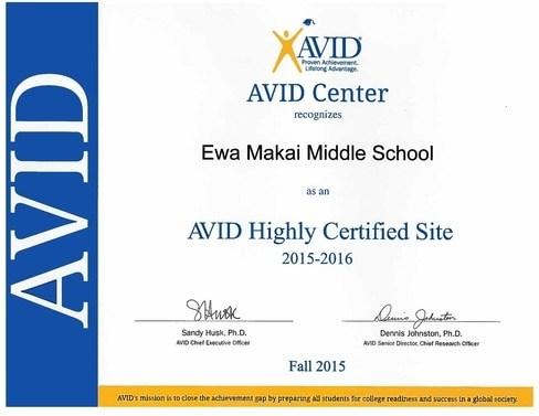 EMMS is an AVID Center!