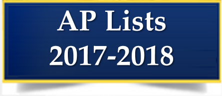 AP List for 2017-2018 Thumbnail Image