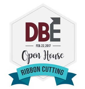 D-B EXCEL Ribbon Cutting badge