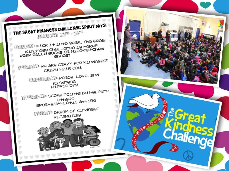 The Great Kindness Challenge! Featured Photo