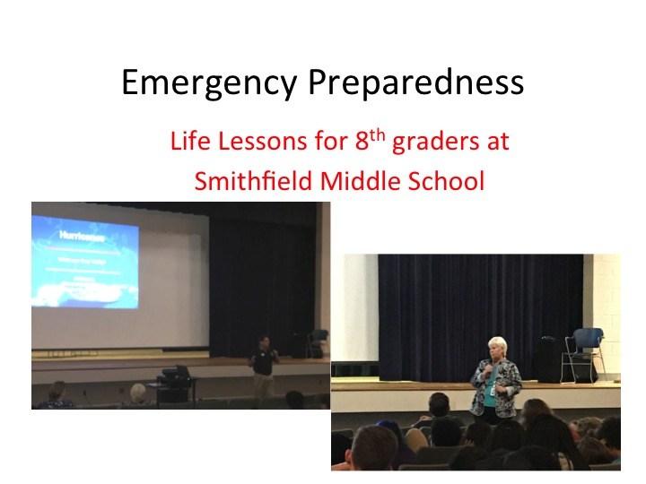 Emergency Preparedness: Life Lessons