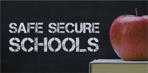 Safe Schools Image with apple