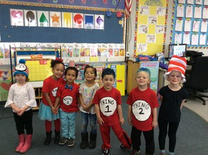 Aileen Colburn preschool students
