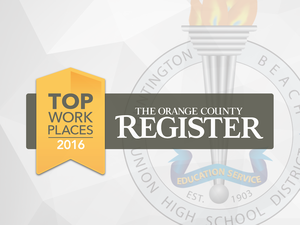 Orange County Register Top Workplace graphic.