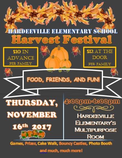 Hardeeville Elementary School's Harvest Festival