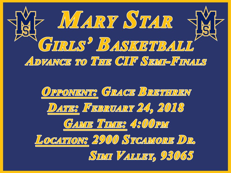 MSHS Girls' Basketball In Final Four! Featured Photo