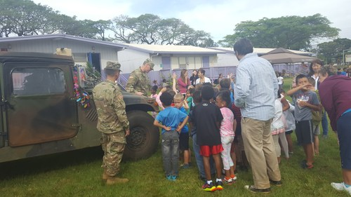 Solomon's 1st ever AVID Career Fair for lower elem. students helped them learn a little bit about different careers. Soldiers from the US Army represented well!