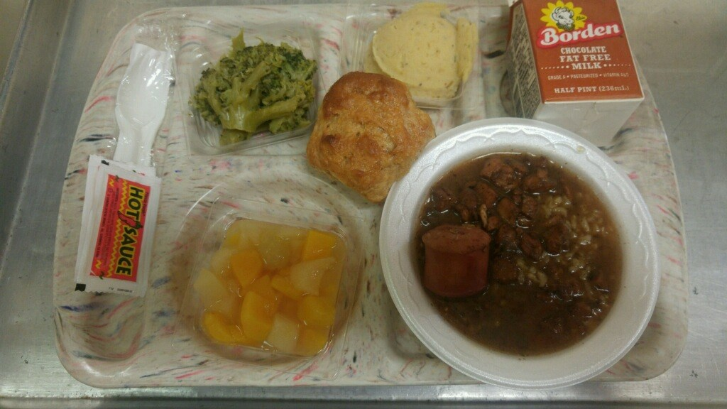 gumbo lunch tray
