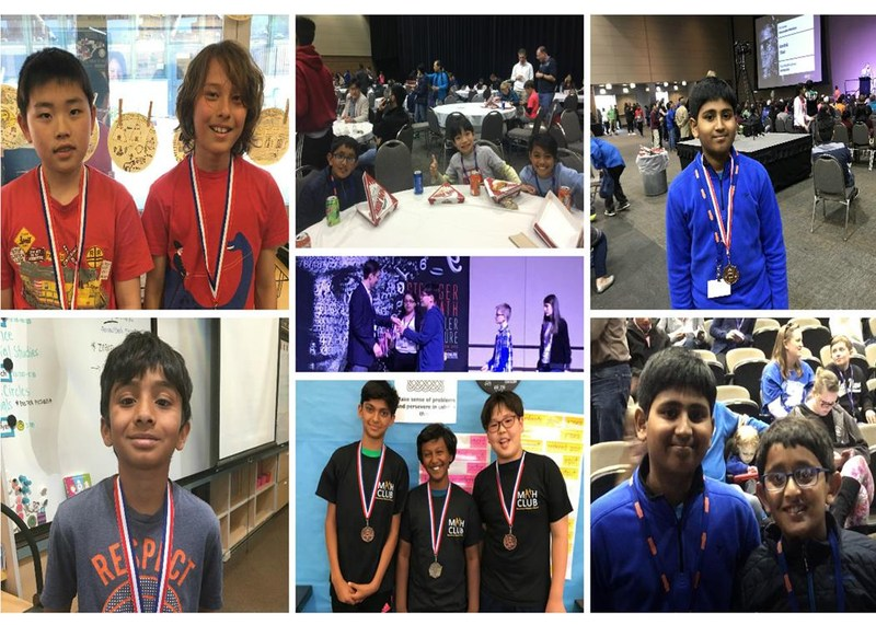Nine Moreland Students Place in National Math Competition Thumbnail Image