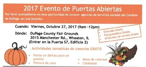 2017 Evento de Puertas Abiertas Thumbnail Image