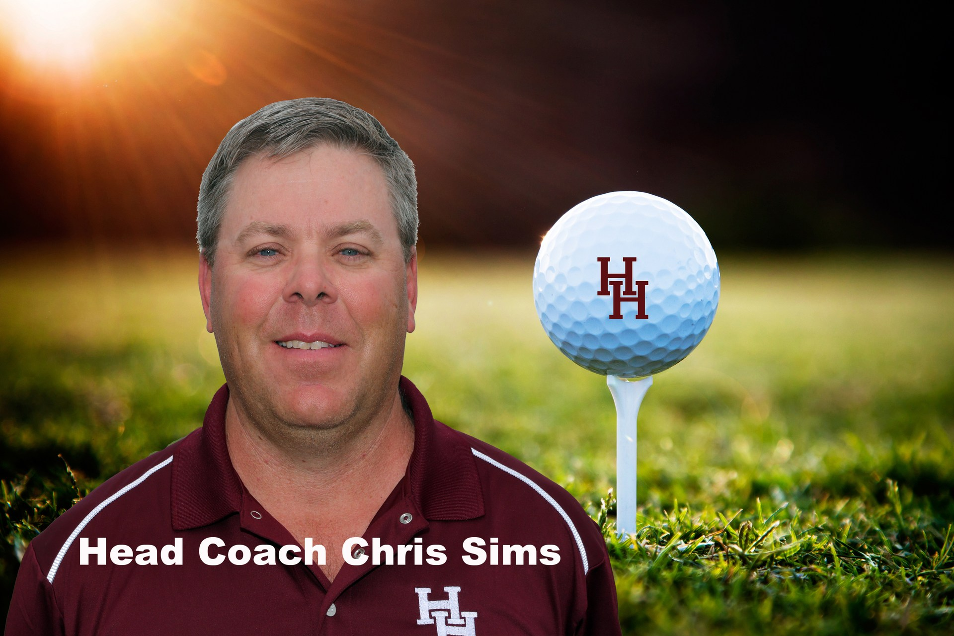 Head Coach Chris Sims